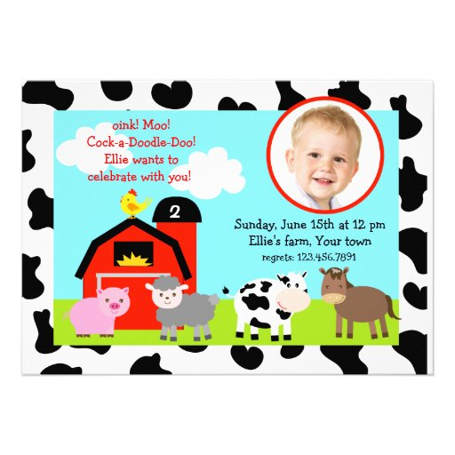 Barnyard Birthday Invitations is the best ideas you have to choose for invitation example