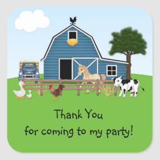 Barnyard Friends Sticker
