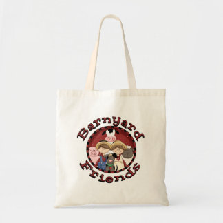 Barnyard Friends Tote Bag