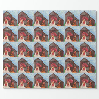 Barnyard Gothic Gift Wrapping Paper