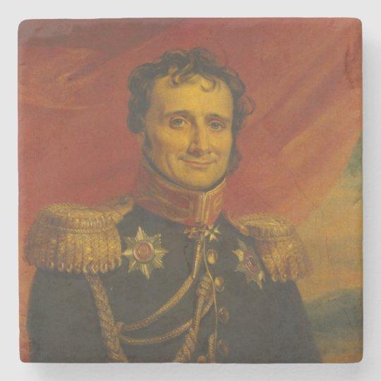 Baron Antoine-Henri Jomini, by George Dawe Stone Beverage Coaster