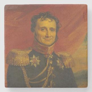Baron Antoine-Henri Jomini, by George Dawe Stone Coaster