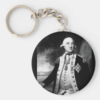 Baron Frederick Wilhelm von_War Image Basic Round Button Keychain