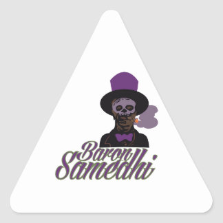 Baron Samedi Triangle Sticker
