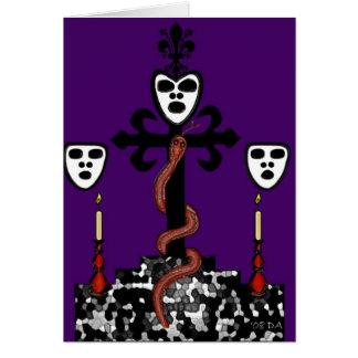 Baron Samedi's Ritual Symbol Card