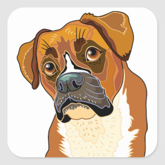 Baron the Boxer Sticker
