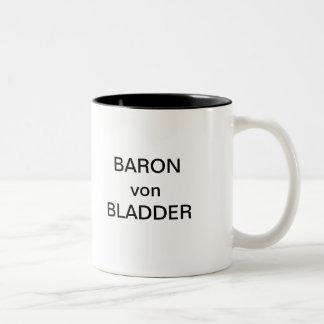 BARON von BLADDER Two-Tone Coffee Mug