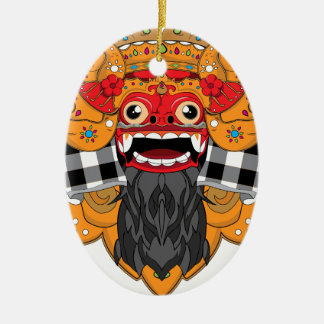 Barong Bali Ceramic Ornament