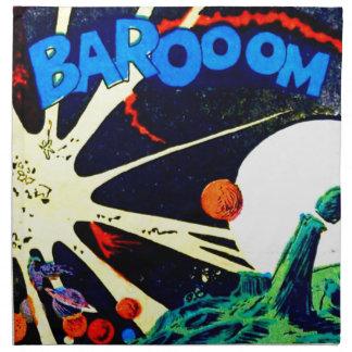 Barooom! Napkin