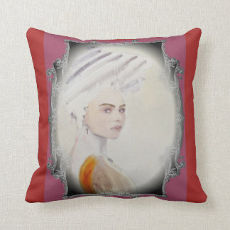 baroque and artdeco throw pillow
