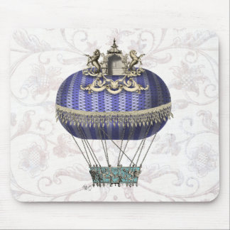 Baroque Balloon With Temple Mouse Pad