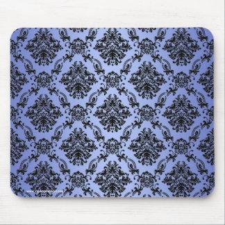 Baroque Blue Gothic Victorian Mousepad