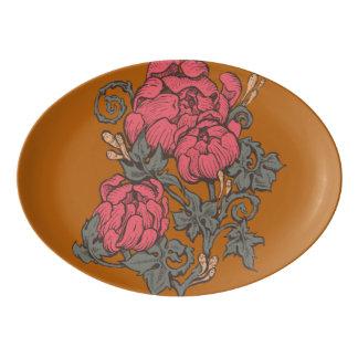 Baroque Bouquet Serving Platter
