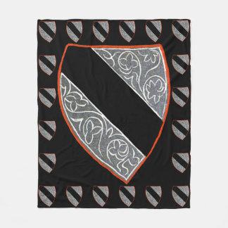 Baroque Crest Extraordinaire II Fleece Blanket