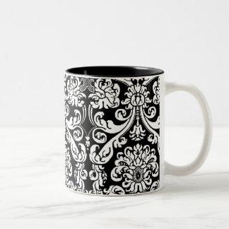 Baroque Damask Mug