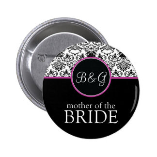 Baroque Elegance Mother of the Bride Button