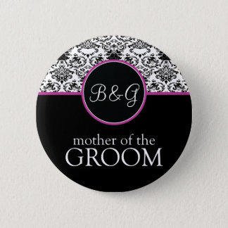 Baroque Elegance Mother of the Groom Button