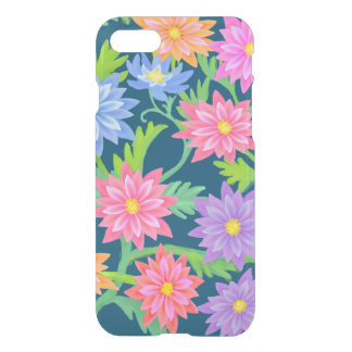 Baroque Floral Garden iPhone 7 Clear Case