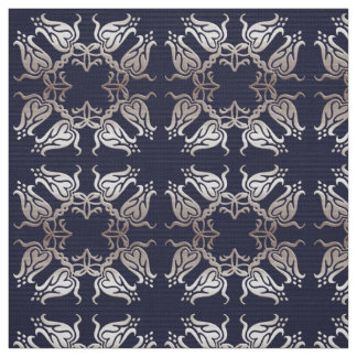 baroque floral pattern fabric