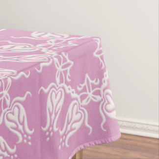 baroque floral pattern tablecloth