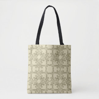 baroque grange pattern. tote bag