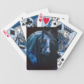 baroque horse bicycle playing cards