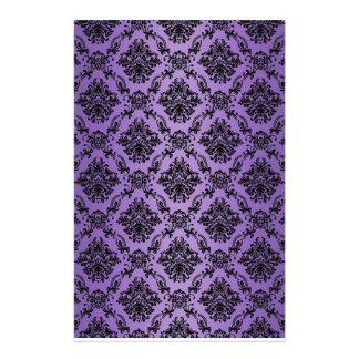 Baroque Light Purple Victorian Scrapbook Paper