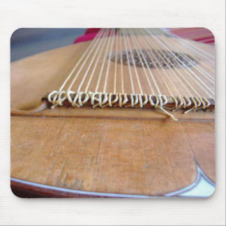 Baroque lute mouse pad