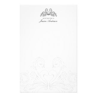 Baroque Ornaments personal stationery