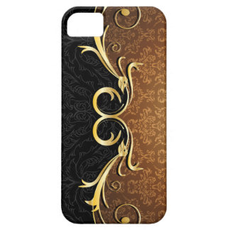 Baroque Scrolls and Damask Case For The iPhone 5