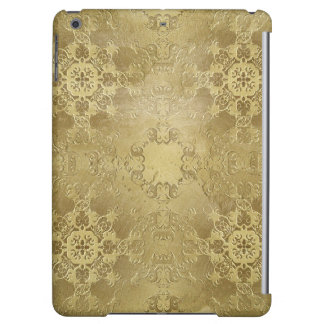 baroque style element on grunge background. iPad air case