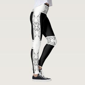 baroque style. leggings