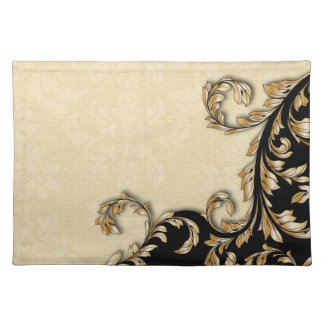 Baroque Swirls Placemat