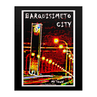 Barquisimeto City - My Town Acrylic Wall Art