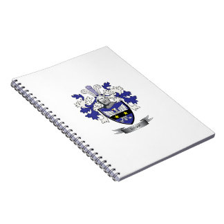 Barr Family Crest Coat of Arms Notebook