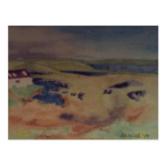 Barra, outer hebrides postcard