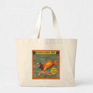 Barracuda Ape Large Tote Bag