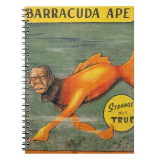 Barracuda Ape Notebook