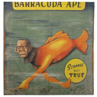 Barracuda Ape Printed Napkin