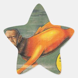 Barracuda Ape Star Sticker