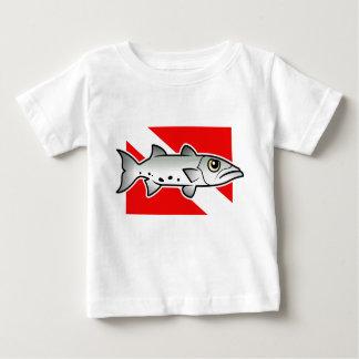Barracuda Dive Flag Baby T-Shirt
