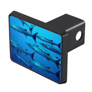 Barracuda Fish Dive Deep Ocean Water Swim Beach Trailer Hitch Cover