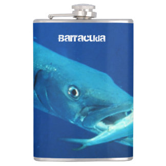Barracuda Fish Hip Flask
