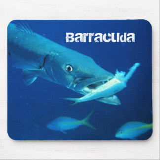 Barracuda Fish Mouse Pad