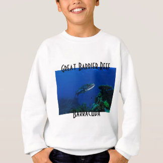 Barracuda Great Barrier Reef Coral Sea Sweatshirt