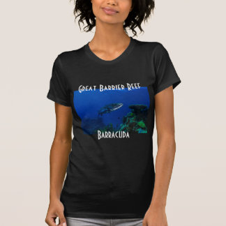 Barracuda Great Barrier Reef Coral Sea T-shirts