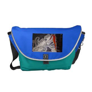 Barracuda/Octopus Messenger Bag