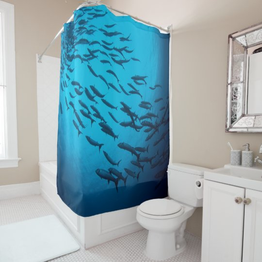 Barracuda Shower Curtain