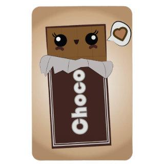 Barre aimantée mignonne de chocolat magnet en rectangle