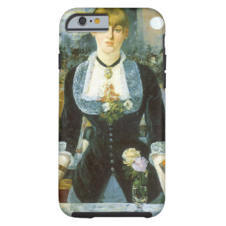 Barre chez le Folies-Bergere, Manet, beaux-arts Coque iPhone 6 Tough